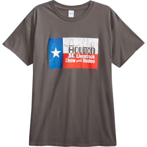 FireBrand Apparel Men's TX Flag Rodeo Short Sleeve T-shirt - view number 4