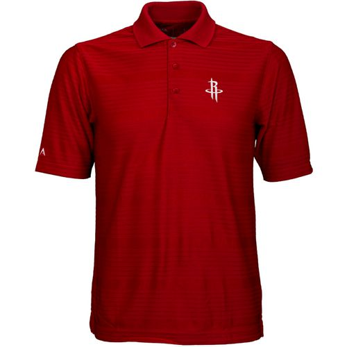Antigua Men's Houston Rockets Illusion Polo Shirt