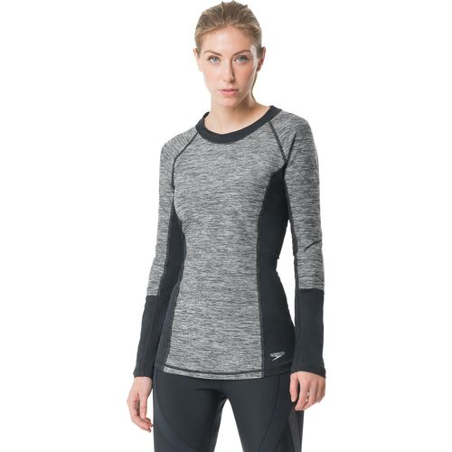 Speedo Women's Heather Rash Guard