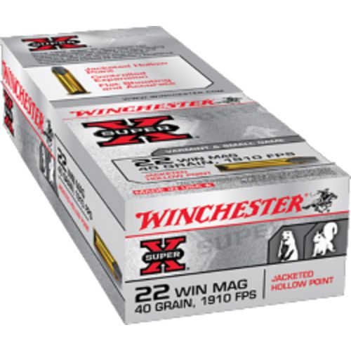 Display product reviews for Winchester Super-X .22 Winchester Magnum Jacketed Hollow-Point Ammunition