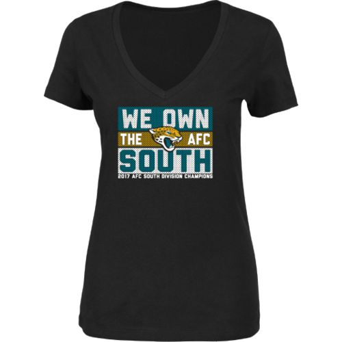 Jacksonville Jaguars Women's We Own the AFC South Division Champions T-shirt