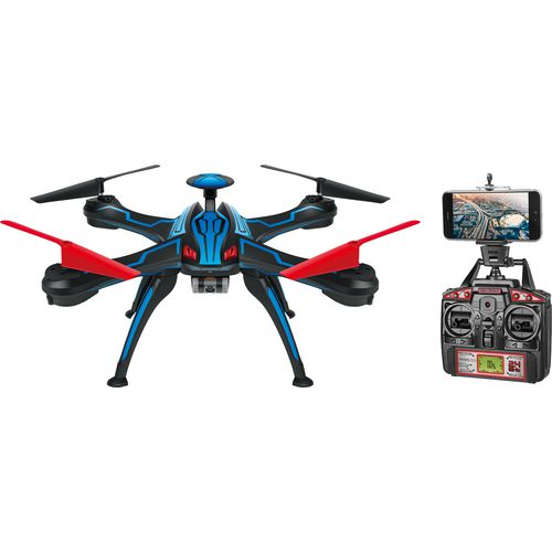 World Tech Toys Venom Pro GPS Streaming 2.4 GHz 4.5-Channel EC HD Camera Drone