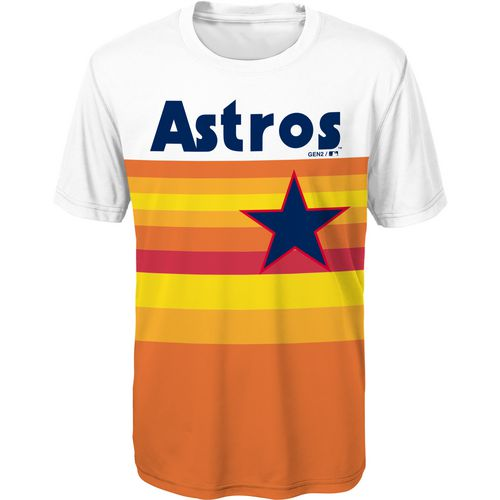 MLB Toddlers' Houston Astros Cooperstown Jersey T-shirt