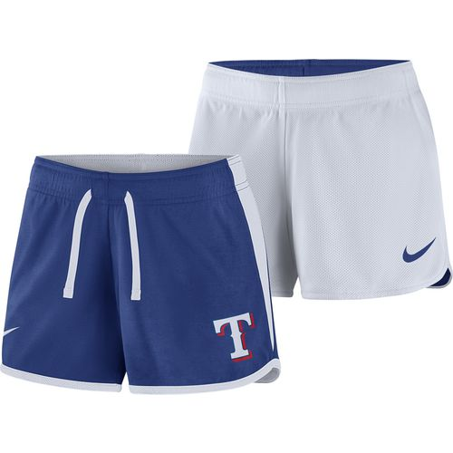 Nike Women's Texas Rangers Logo Dri-FIT Touch Short