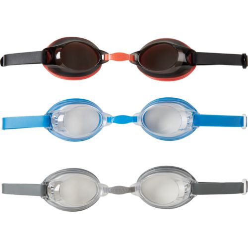 Speedo Adults' Swim Goggles 3-Pack