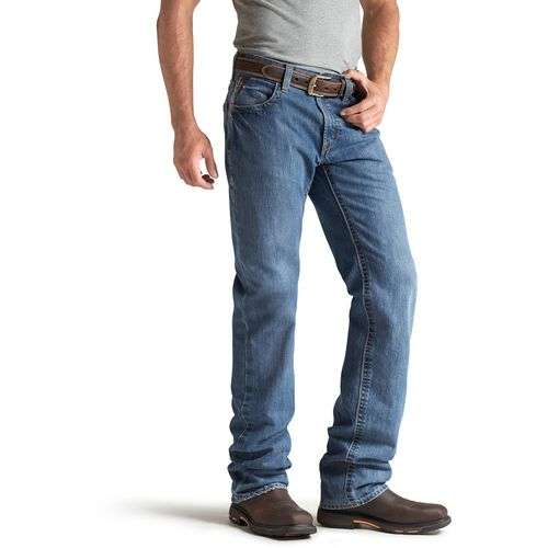 Ariat Men's FR M3 Loose Basic Stackable Straight Leg Jeans