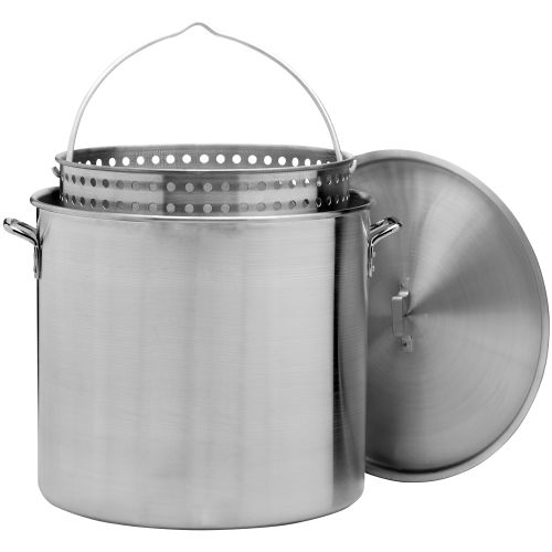 Display product reviews for Outdoor Gourmet 120 qt. Aluminum Pot with Strainer