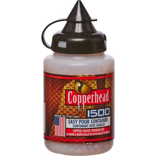 Display product reviews for Crosman Copperhead .177 Caliber BBs 1,500-Pack