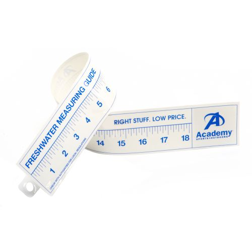 Hardline products 18 ruler decal academy for Fish ruler sticker