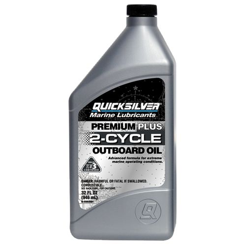 Quicksilver 1 qt. Premium Plus 2-Cycle Outboard Oil