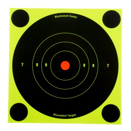 "Display product reviews for Birchwood Casey® 6"" Shoot-N-C® Bull's-Eye Targets 12-Pack"