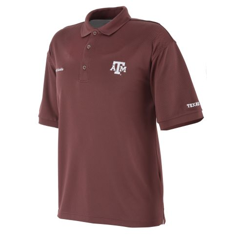 Columbia Sportswear Men's Collegiate Perfect Cast™ Texas A&M Aggies Polo