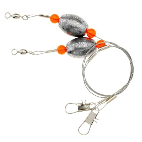 Eagle Claw Lazer Sharp 1-1/2 oz. - 18' Saltwater Rigs 2-Pack