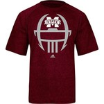 adidas Men's Mississippi State University Sideline Helmet Short Sleeve T-shirt