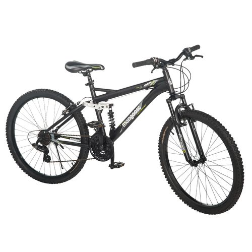 Mongoose  Men s Status 2.2 26  21-Speed Full-Suspension Bicycle