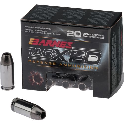 Display product reviews for BARNES® TAC-XP .45 Automatic +P 185-Grain Bullets