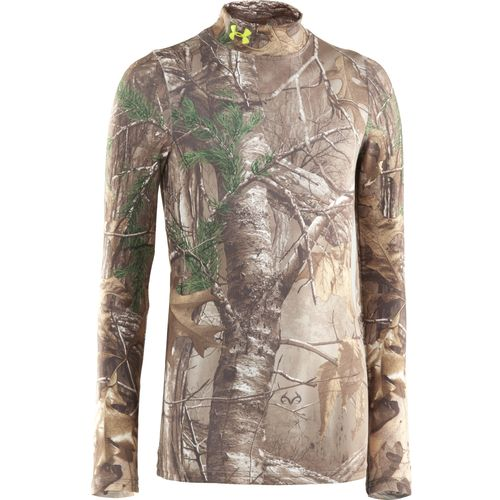 Image for Under Armour® Boys' Camo Evo ColdGear® Mock Turtleneck from Academy