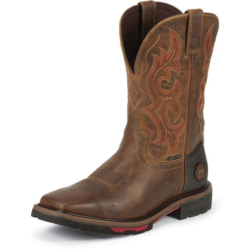 Justin Men's Rugged Composition Toe Western Work Boots