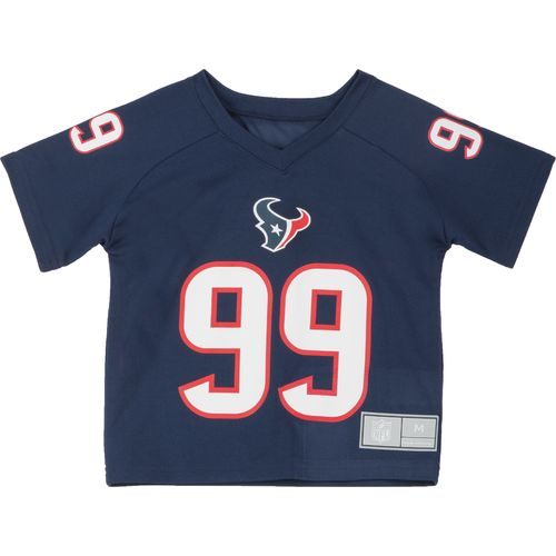Image for NFL Toddler Boys' Houston Texans J. J. Watt #99 Performance T-shirt from Academy