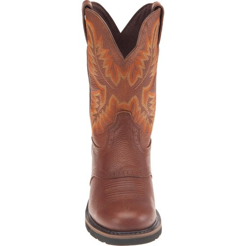 Justin Men's Sunset Cowhide Western Work Boots - view number 3
