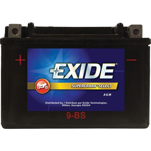 Exide Supercrank Select  12V Premium VRLA (AGM) Powersport Battery