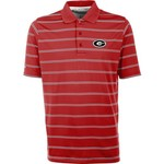 Antigua Men's University of Georgia Deluxe Polo Shirt - view number 1