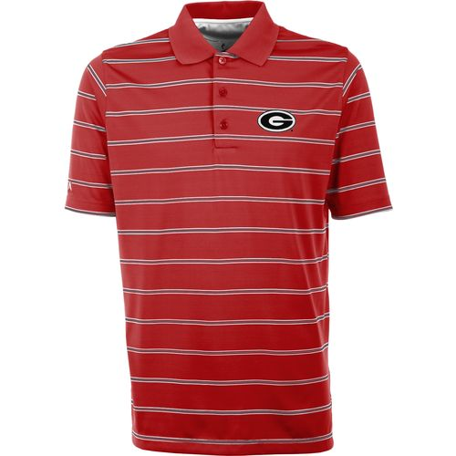 Antigua Men's University of Georgia Deluxe Polo Shirt