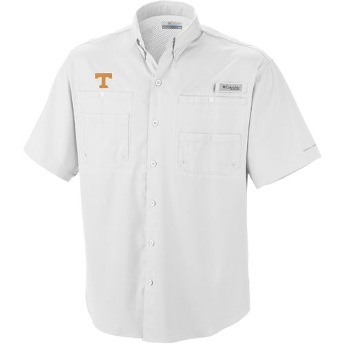 Columbia Sportswear Men's University of Tennessee Tamiami™ Short Sleeve Fishing Shirt
