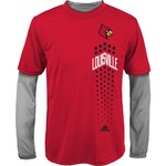 adidas Boys' University of Louisville 3 in 1 Campus Bound CLIMALITE® T-shirt Combo