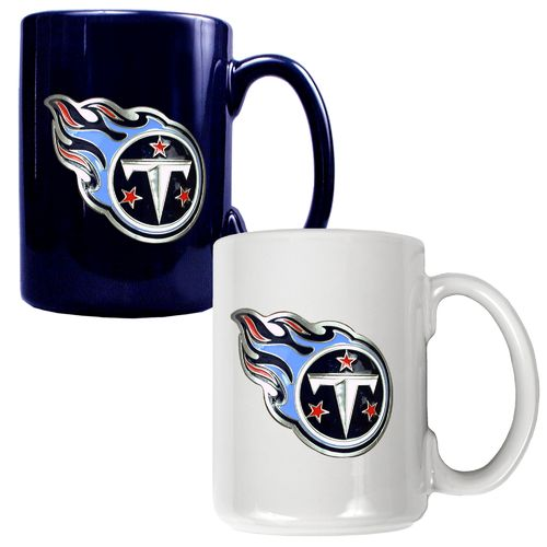 Great American Products Tennessee Titans 15 oz. Ceramic Mug Set