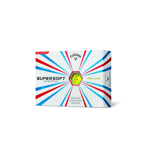 Callaway Supersoft Yellow Golf Balls 12-Pack