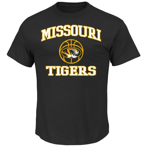 Majestic Men's University of Missouri Section 101 Basketball Heart and Soul T-shirt