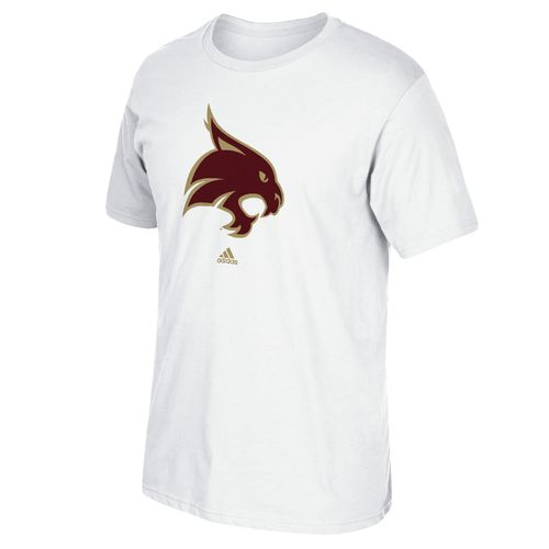 Display product reviews for adidas Men's Texas State University School Logo T-shirt