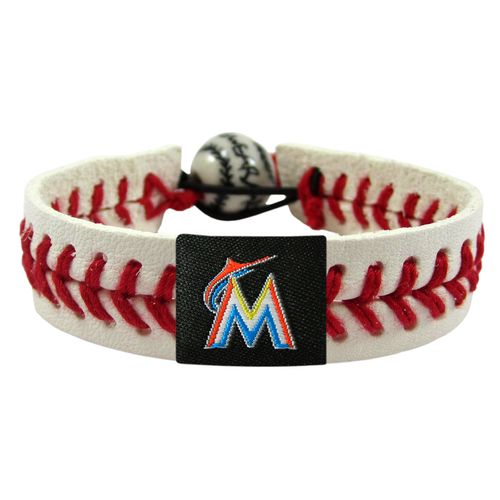 GameWear Miami Marlins Classic Baseball Bracelet