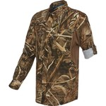 Magellan Outdoors™ Boys' Fish Gear Falcon Lake Long Sleeve Camo Fishing Shirt