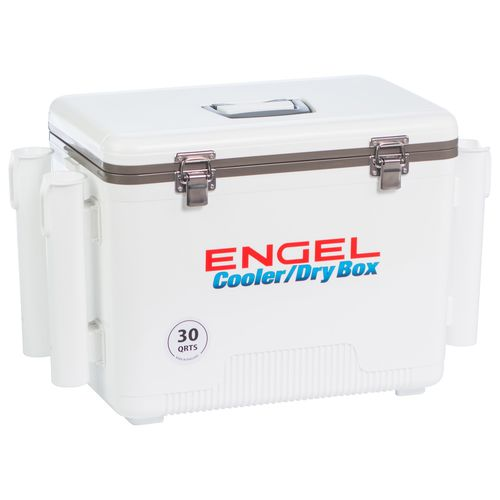 Engel 30 qt Cooler/Dry Box with Rod Holders - view number 7