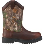 Brazos® Men's Ironmite II Wellington Steel Toe Camo Work Boots