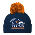 adidas Boys' University of Texas at San Antonio Cuffed Knit Hat with Pom