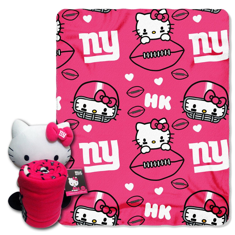The Northwest Company New York Giants Hello Kitty