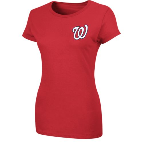 Majestic Women's Washington Nationals T-shirt