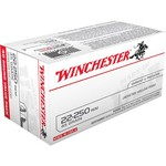 Winchester Best Value USA .22 - 250 Remington 45-Grain JHP Centerfire Rifle Ammunition - view number 1