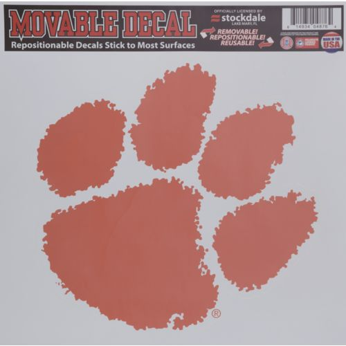 Stockdale Clemson University Single Logo Decal