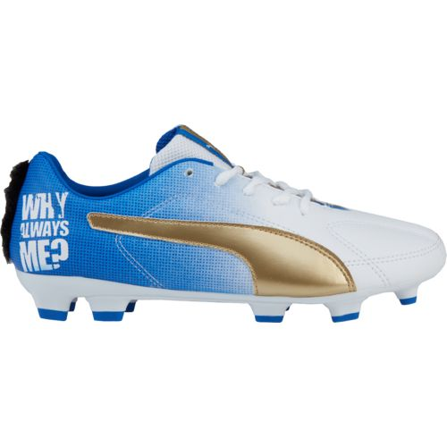 PUMA Kids' Attack Jr. Player Edition Soccer Cleats
