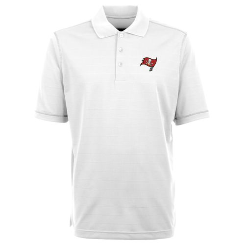 Antigua Men's Tampa Bay Buccaneers Icon Short Sleeve Polo Shirt