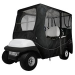 Classic Accessories Deluxe Long Roof Golf Cart Enclosure - view number 1