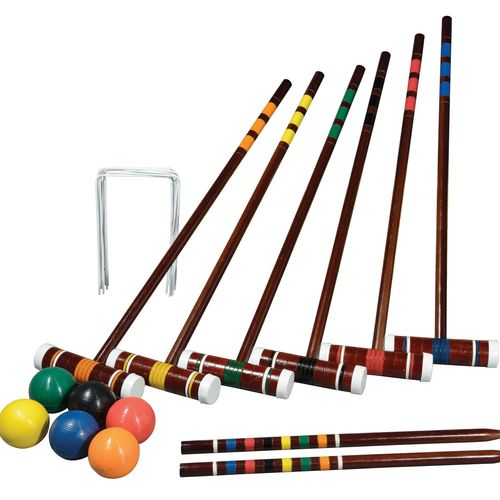 Franklin Sports 6-Player Intermediate Croquet Set