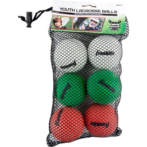 Franklin Mini Lacrosse Balls 6-Pack