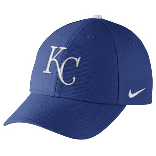 Nike™ Adults' Kansas City Royals Dri-FIT Wool Classic Cap - view number 1