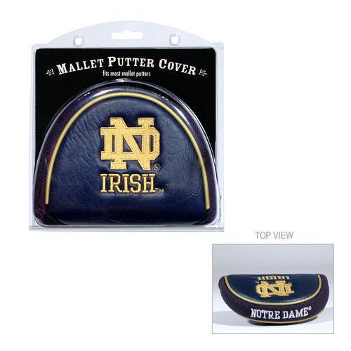 Team Golf University of Notre Dame Mallet Putter