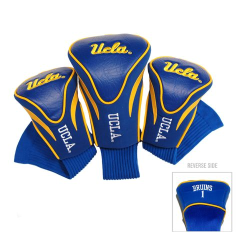 Team Golf University of California, Los Angeles Contour Sock Head Covers 3-Pack - view number 1